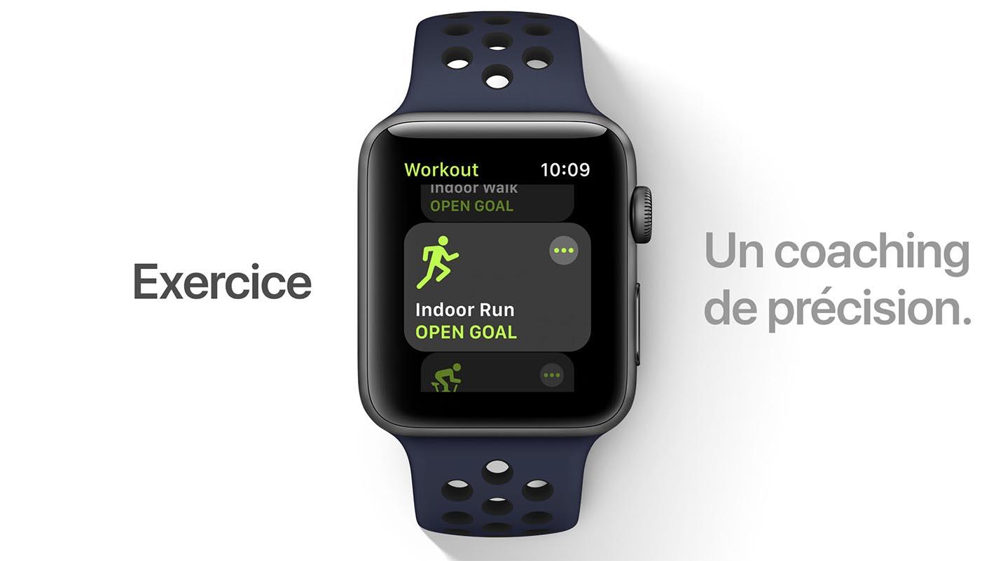 watchOS 4 Exercice
