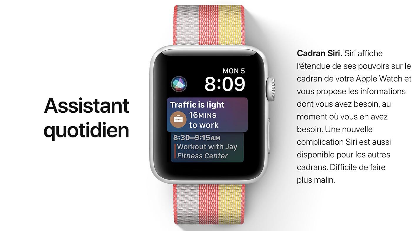 watchOS 4 Siri