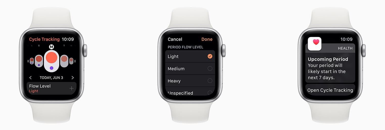 watchOS 6 Cycles