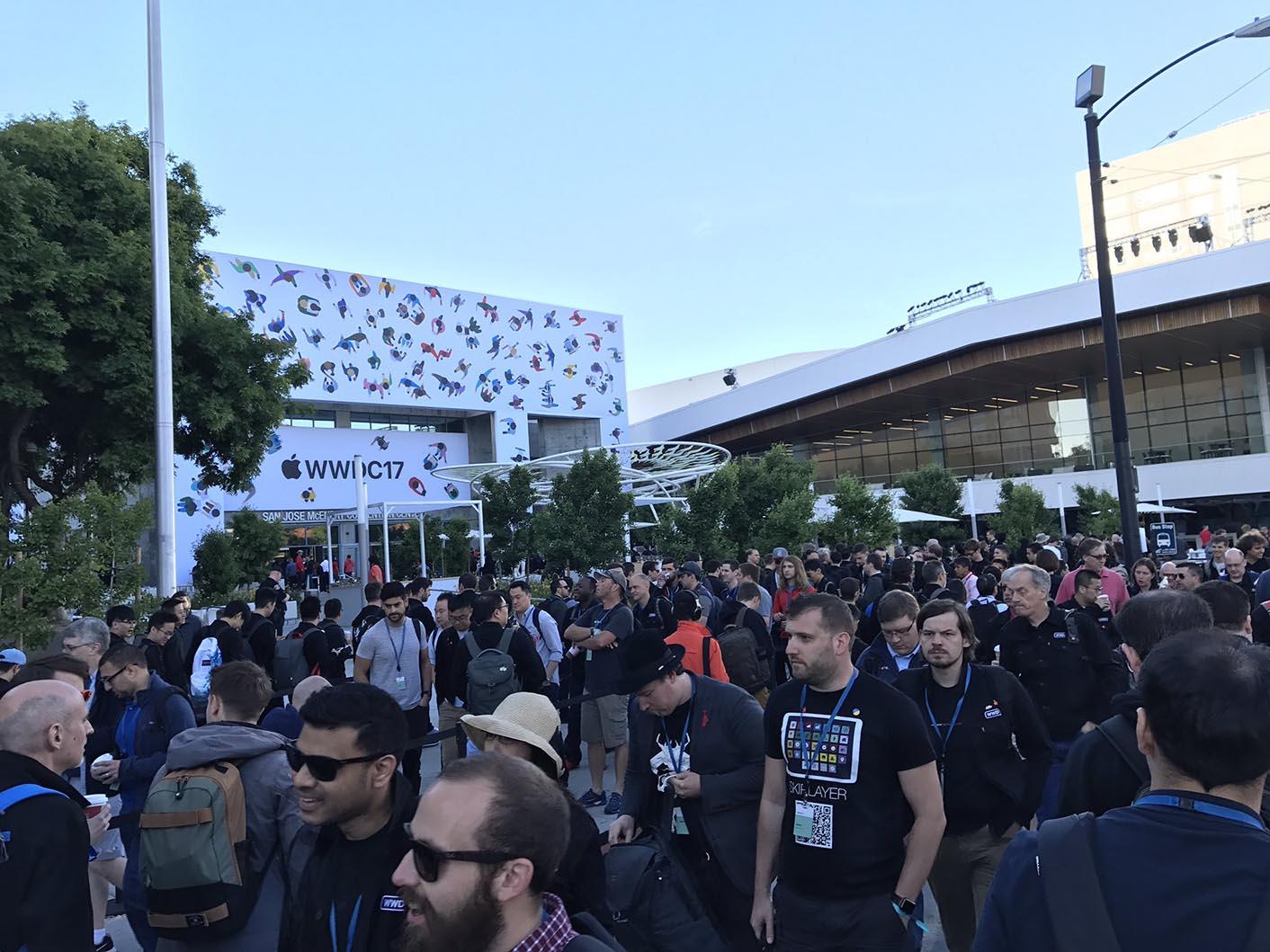 WWDC 2017 McEnery Center