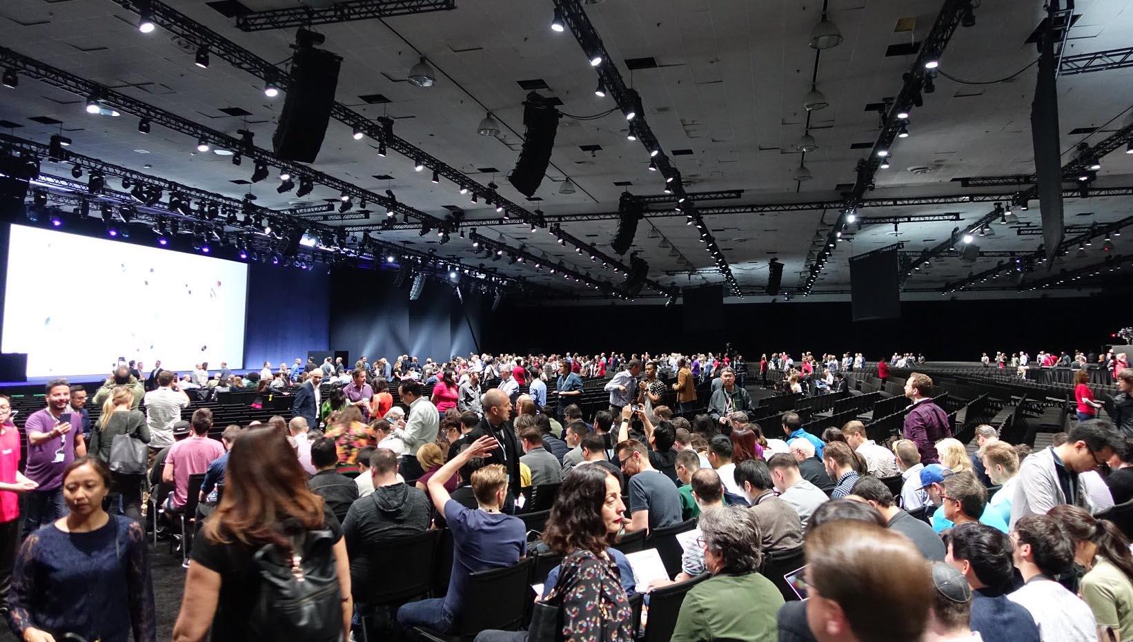 WWDC 2017 salle