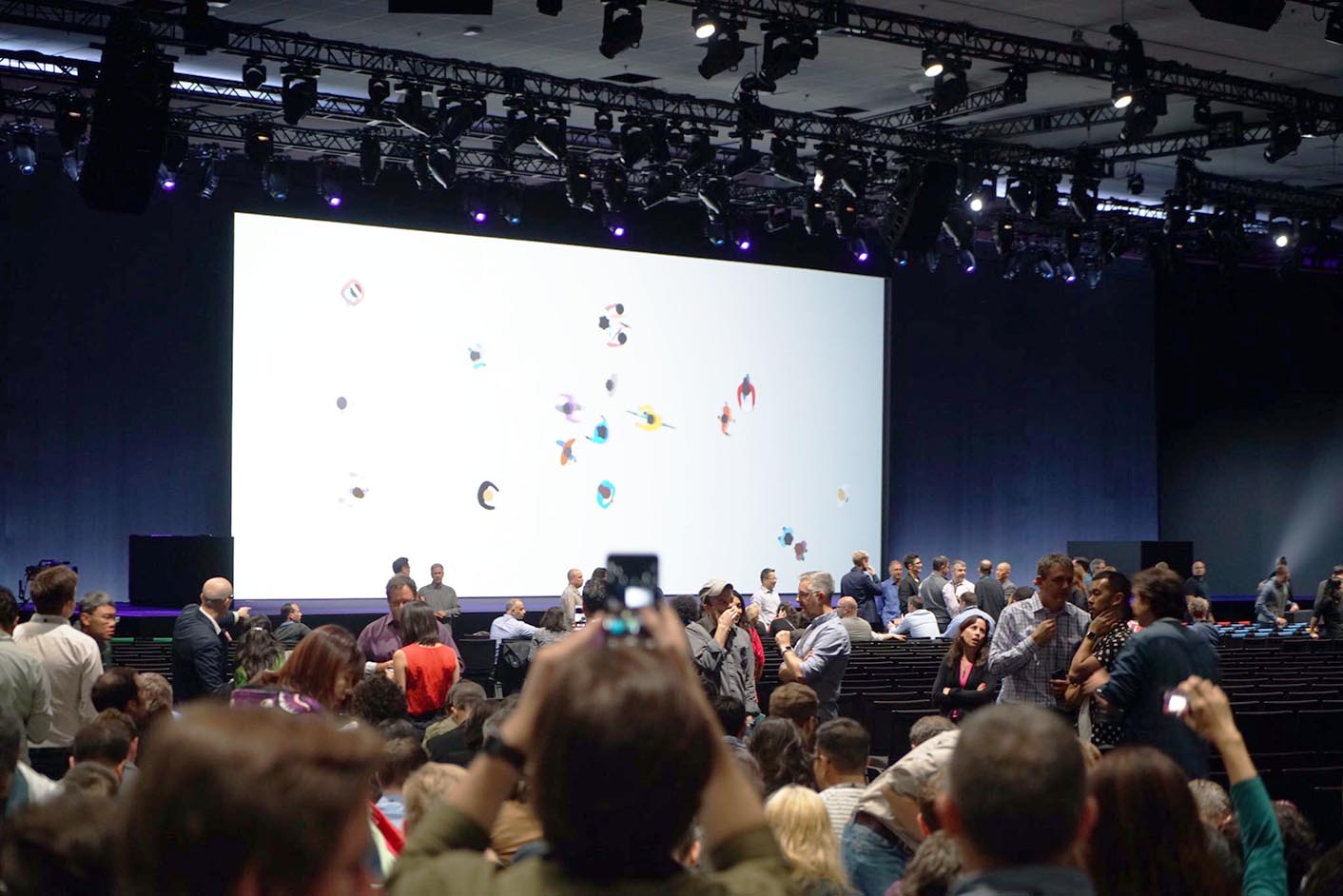 WWDC 2017 stands