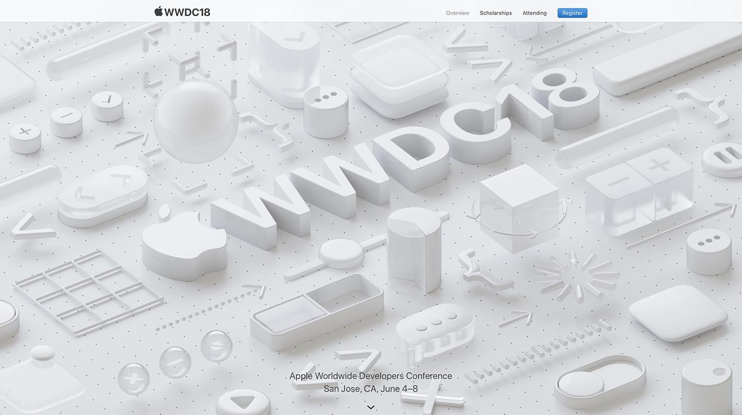WWDC 2018 visuel