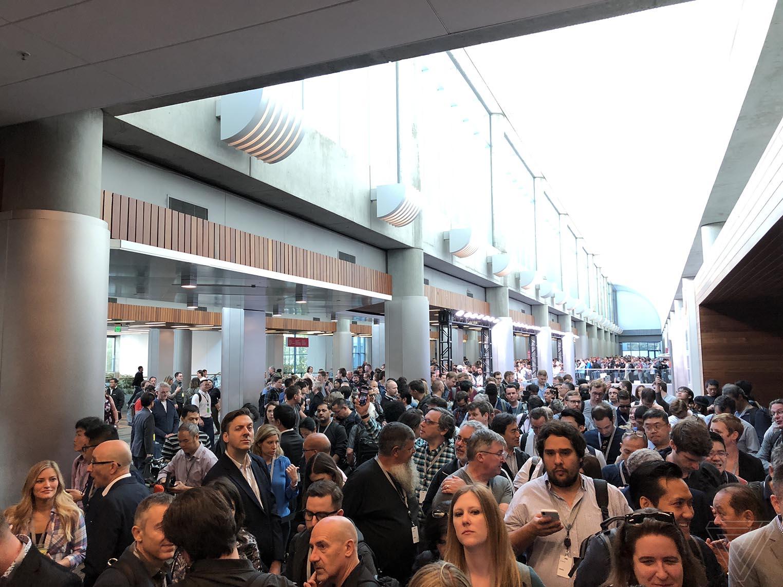 WWDC 2018 file attente