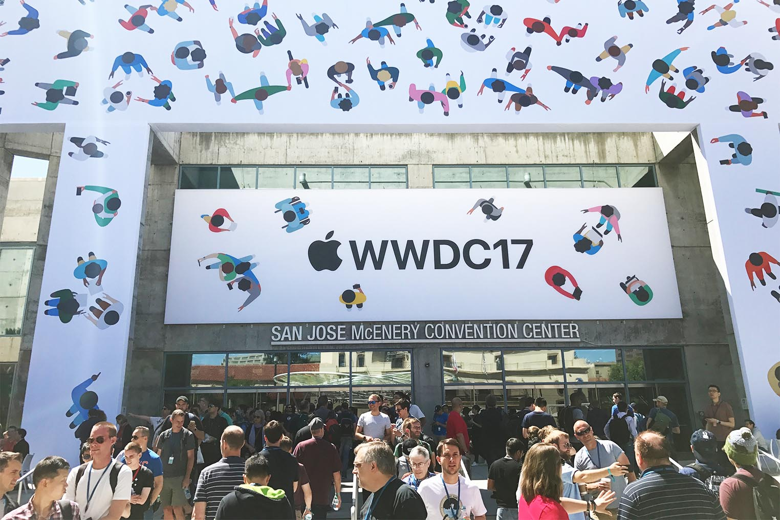 WWDC 2017 McEnery Convention Center