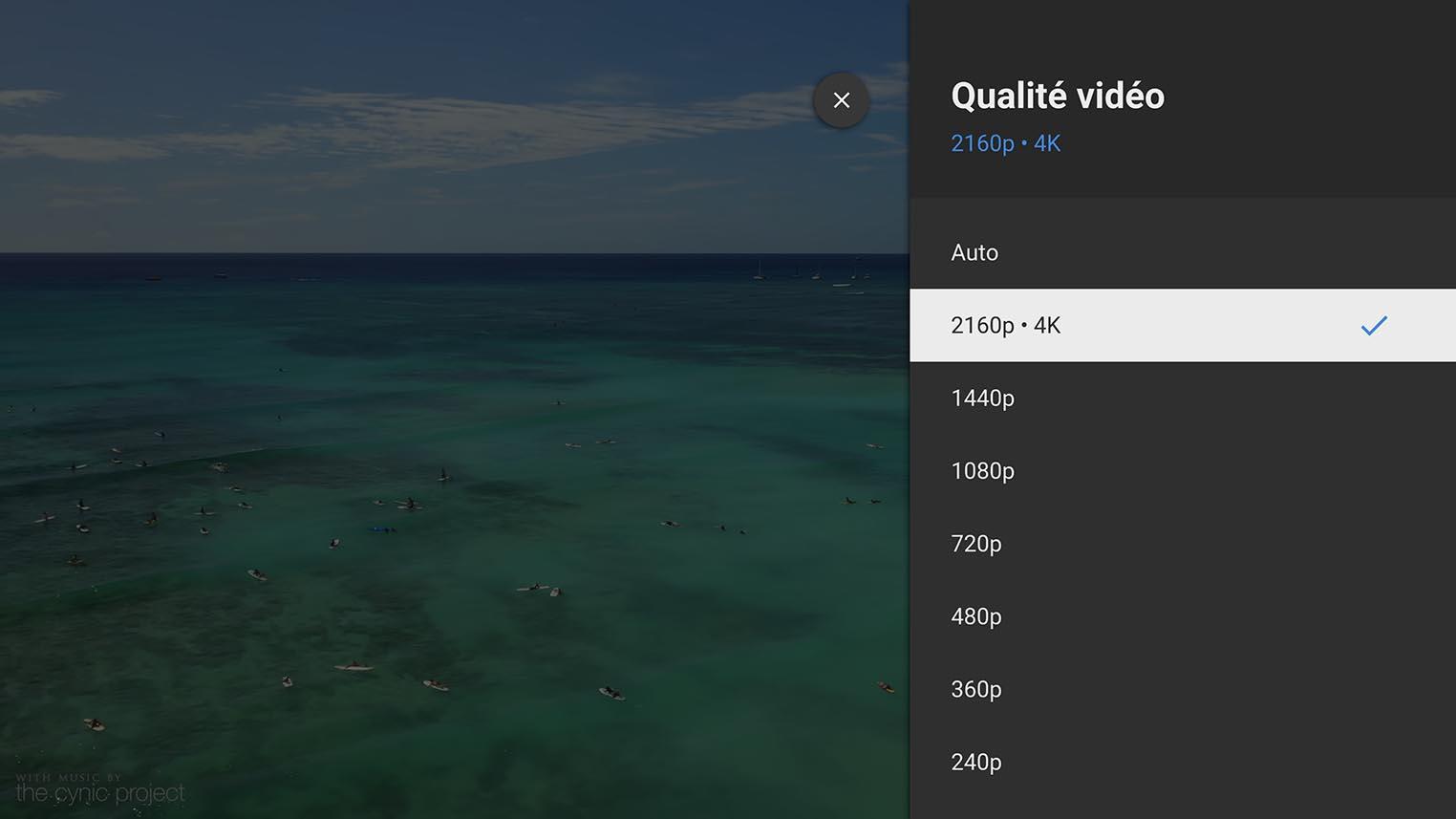 YouTube 4K Apple TV