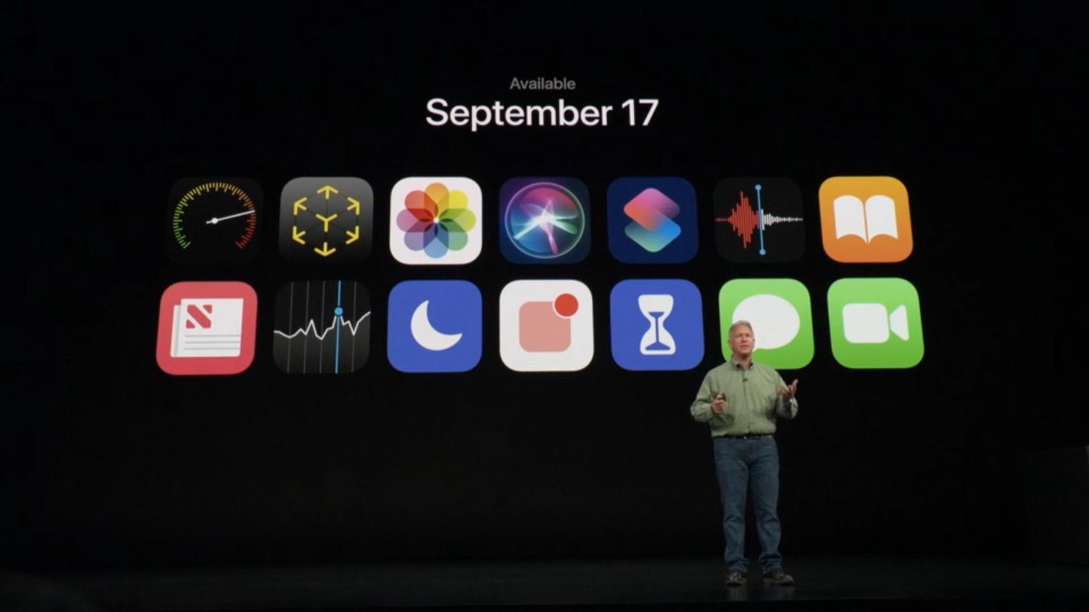Apple Keynote Septembre 2018