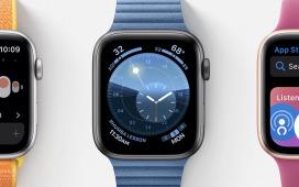 Apple Watch : de nouveaux cadrans sur watchOS 6